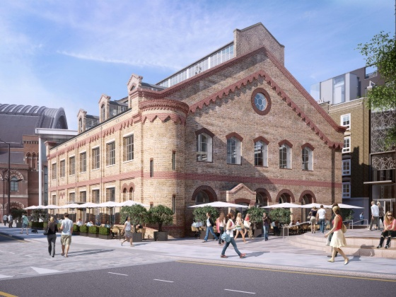 BAM commences its eleventh project so far at Argent's huge regeneration of Kings Cross