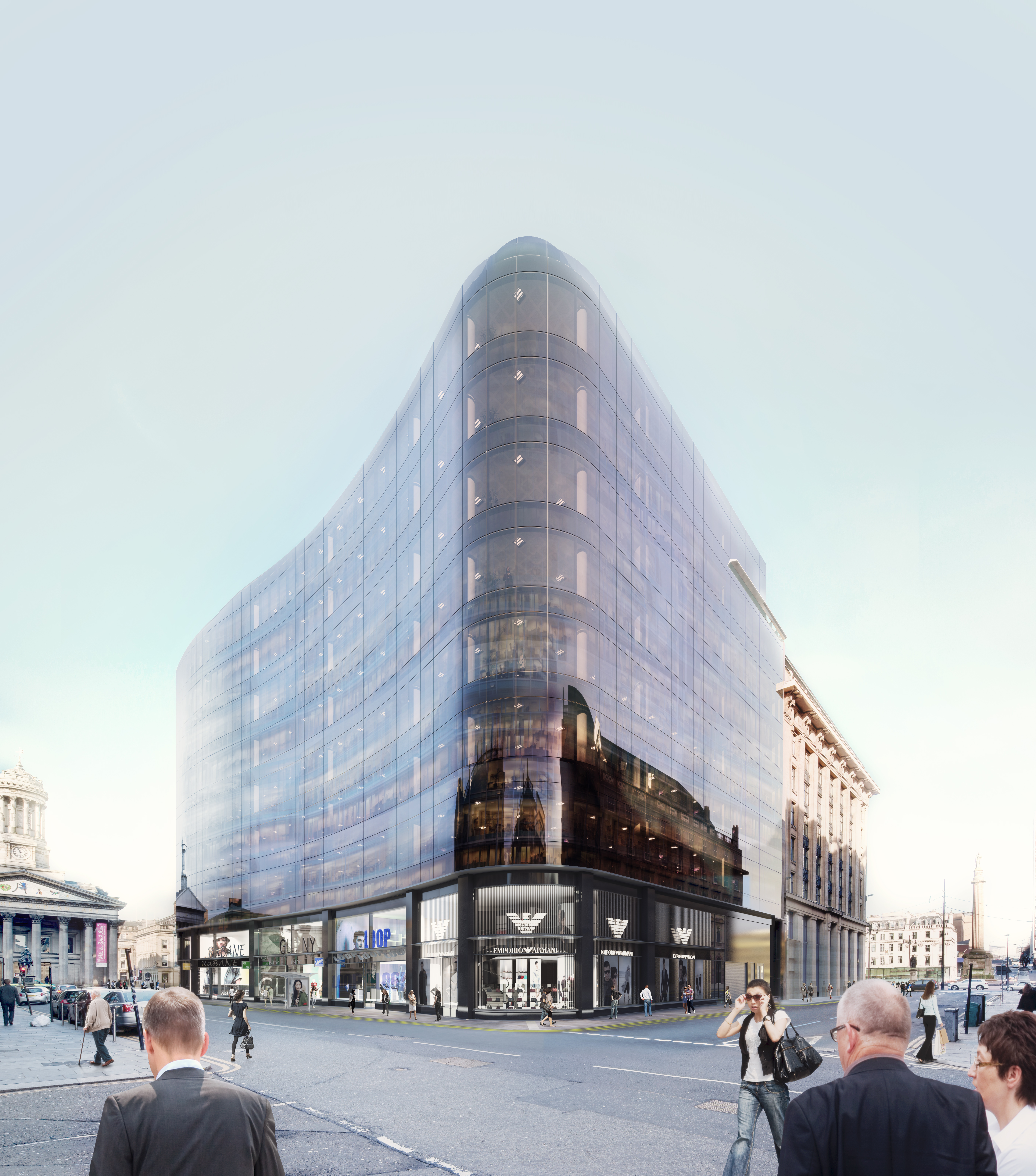 Emporio Armani To Open Store In Glasgow's CONNECT110NS