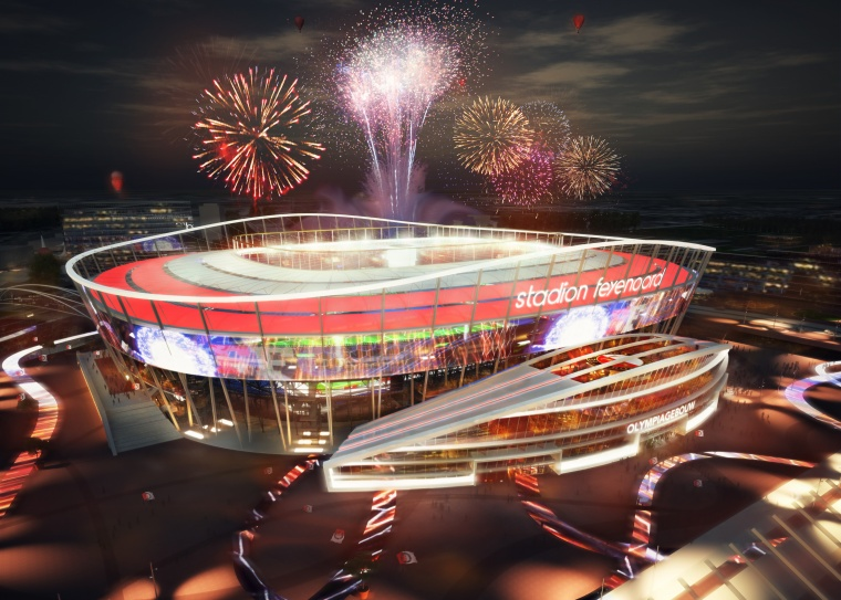 Feyenoord Founders Consortium welcomes positive recommendation of scouts; consortium with BAM, AM and Siemens is ready for further steps in the realisation of De Nieuwe Kuip