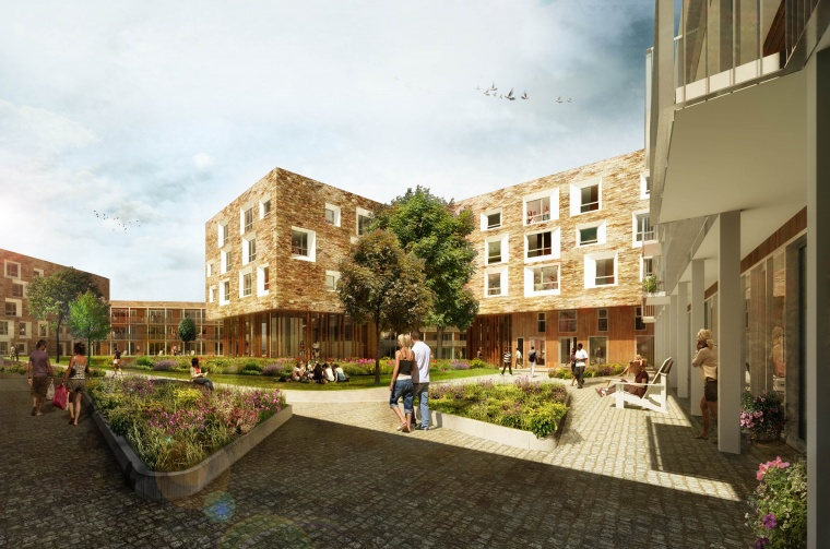 University of Cambridge awards £80 million contract to BAM Construction on the North West Cambridge Development