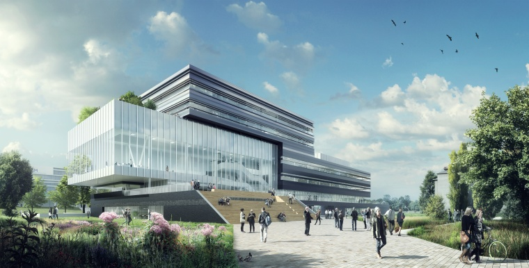 BAM wins contract for Center Court at Brightlands Chemelot Campus