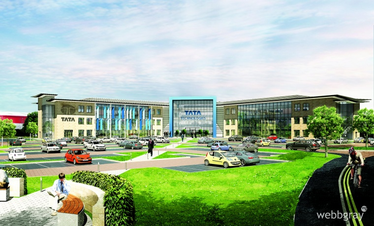 Tata Technologies £20 million Warwick HQ commences with BAM as contractor