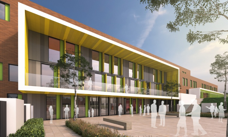Artists impression new academy on Don Valley site in Sheffield