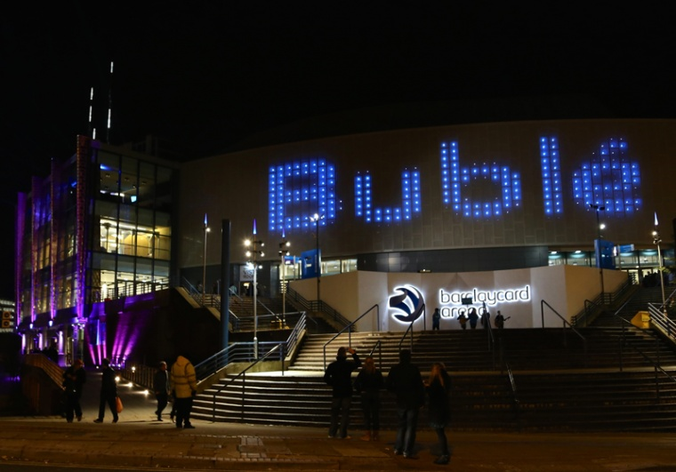 Michael Bublé officially launches Birmingham's 'Barclaycard Arena'