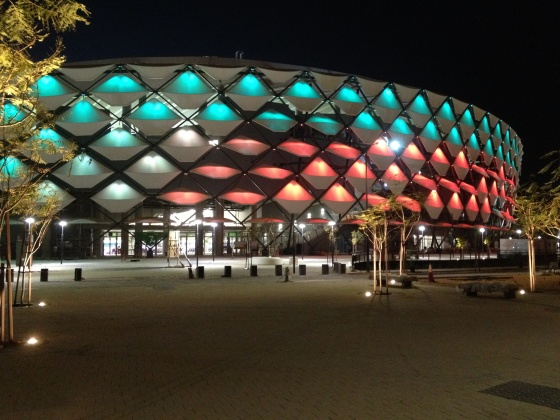 BAM completes ultra-fast track FIFA-standard stadium in Abu Dhabi