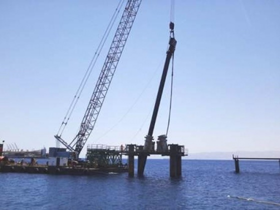 Successful start of marine construction works on Aqaba LNG project in Jordan
