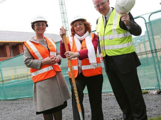 A bright future for successful ageing as sod turned on €48 million facility