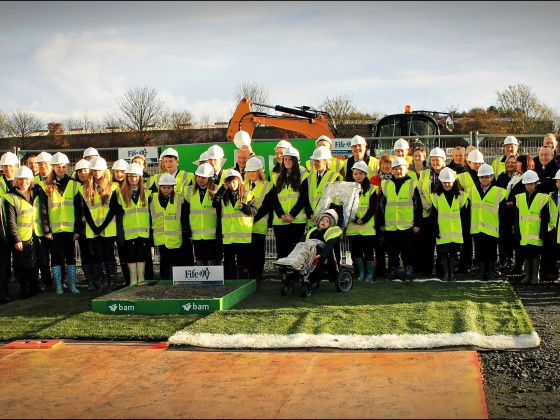 Work begins on new school