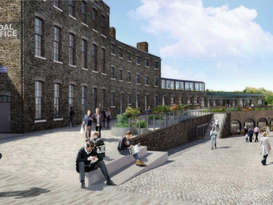BAM appointed for David Morley's Fish & Coal scheme at Kings Cross