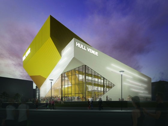 BAM Construction appointed to build £36.2 million [approximately €50 million] Hull Venue