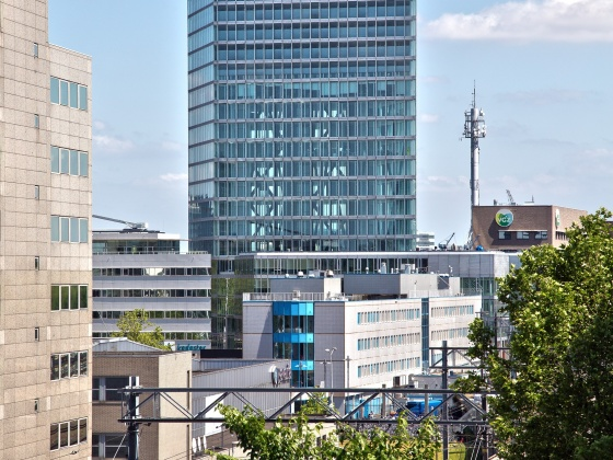 BAM renovates part of Kennedy Tower in Eindhoven for HERE