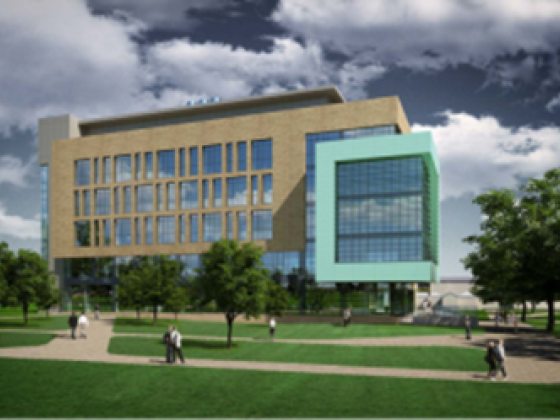 Artist impression of the first new Dublin Institute of Technology building