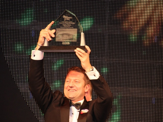 Steve Roome, Britain's Construction Manager of the Year