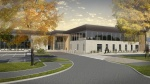 Artists impression Graves Leisure Centre in Sheffield