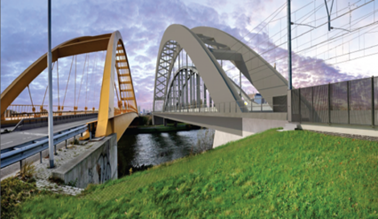 ProRail and BAM sign contract rail track doubling project between Utrecht Central Station and Utrecht Leidsche Rijn