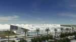 Artist's impression exterior Dar-es-Salaam International Airport Terminal 3